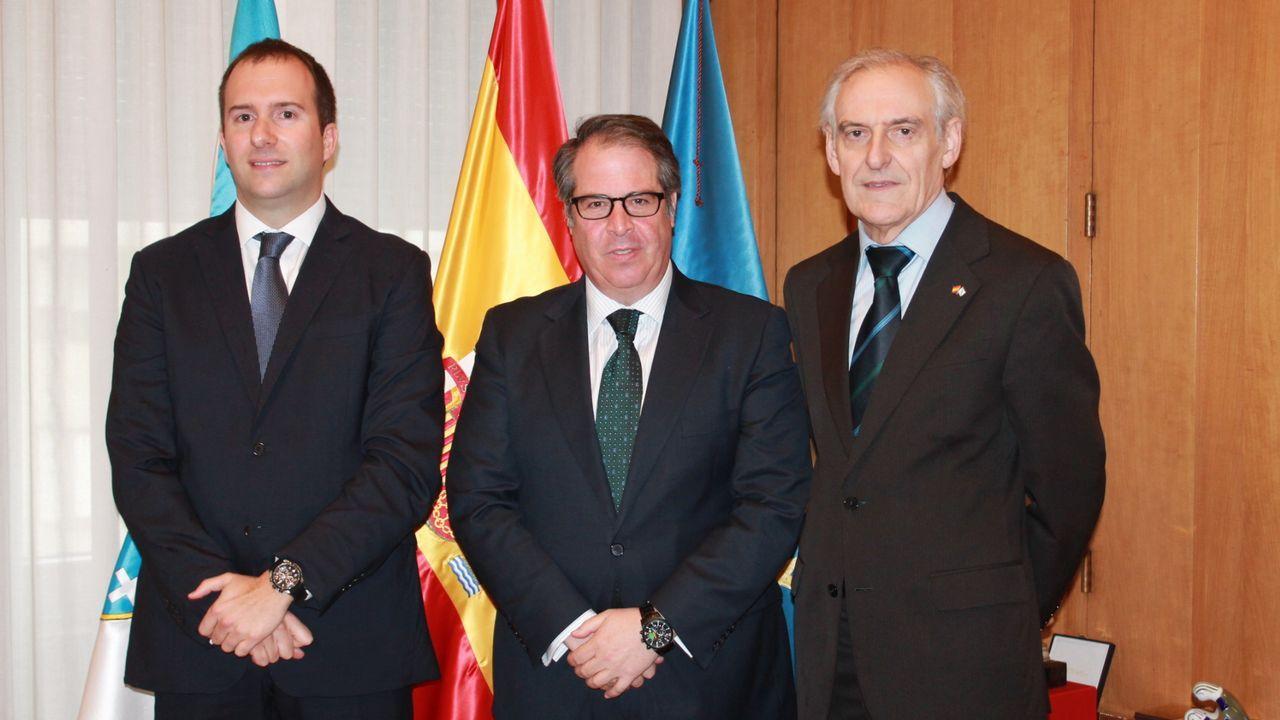 Fernández, Cospedal y López Ares