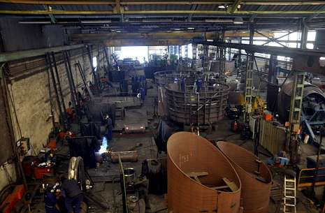 Ganaín diversifica sus nichos de negocio, aunque el sector naval copa gran parte de su actividad.