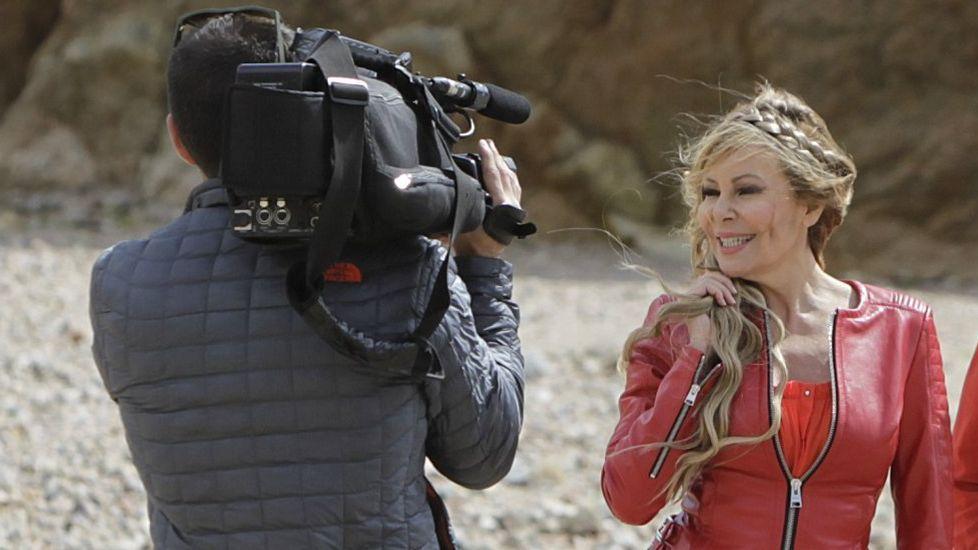 La vuelta a la televisión de Ana Obregón.Lequio y su mujer, en una imagen de archivo.