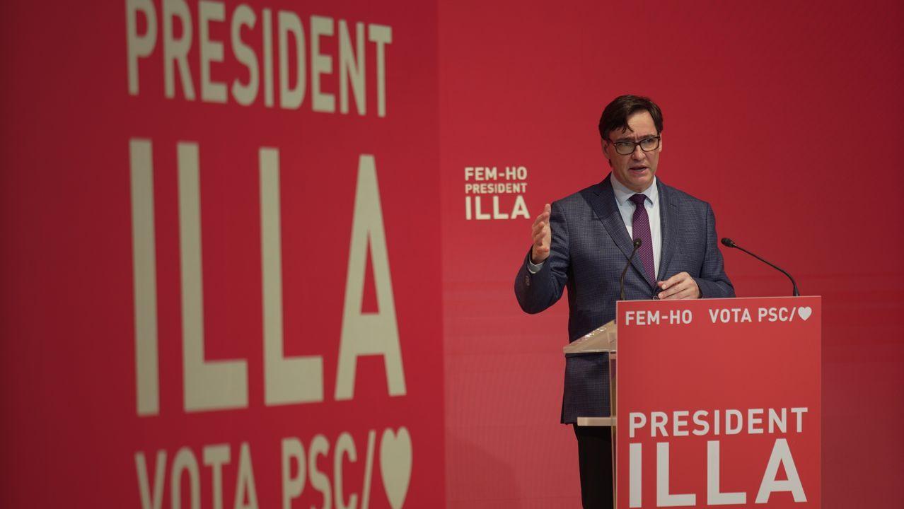 Salvador Illa, candato del PSC a la Generalitat