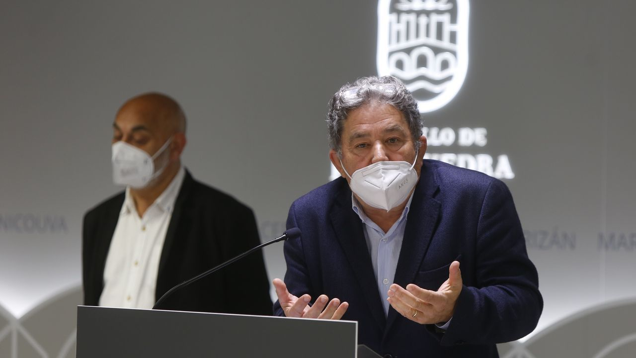 El alcalde de Pontevedra. Miguel Anxo Fernández Lores