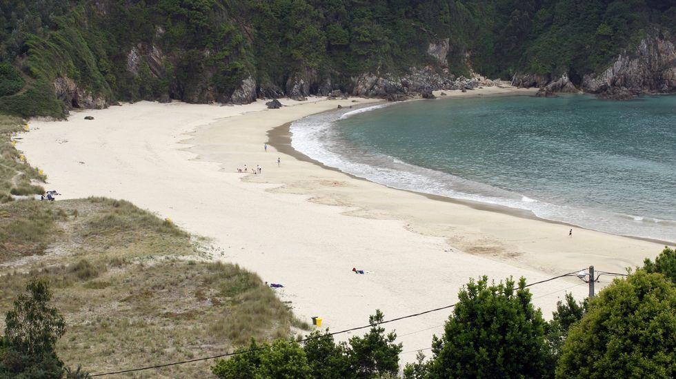 Playa de Retorta, en Boiro.Playa de Xilloi, en O Vicedo