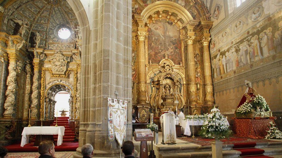 Las obras comprenderán la restauración de las pinturas murales de la cabecera de la iglesia