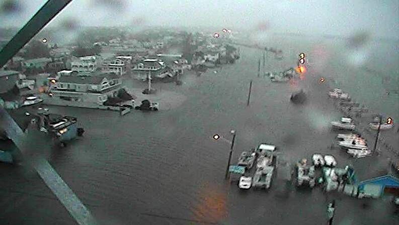 Inundación en Nueva Jersey