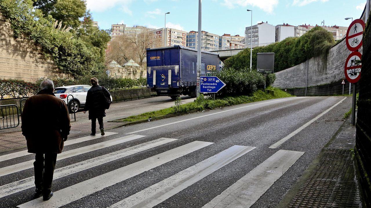 Caravana de la hostelería de Vigo contra las restricciones