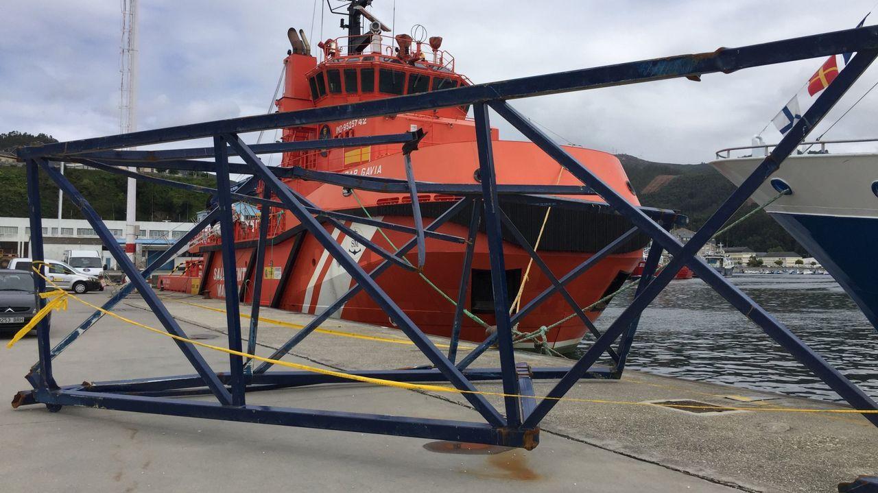 El buque Alonso de Chaves, de Salvamento Marítimo de Gijón.El buque Alonso de Chaves, de Salvamento Marítimo de Gijón
