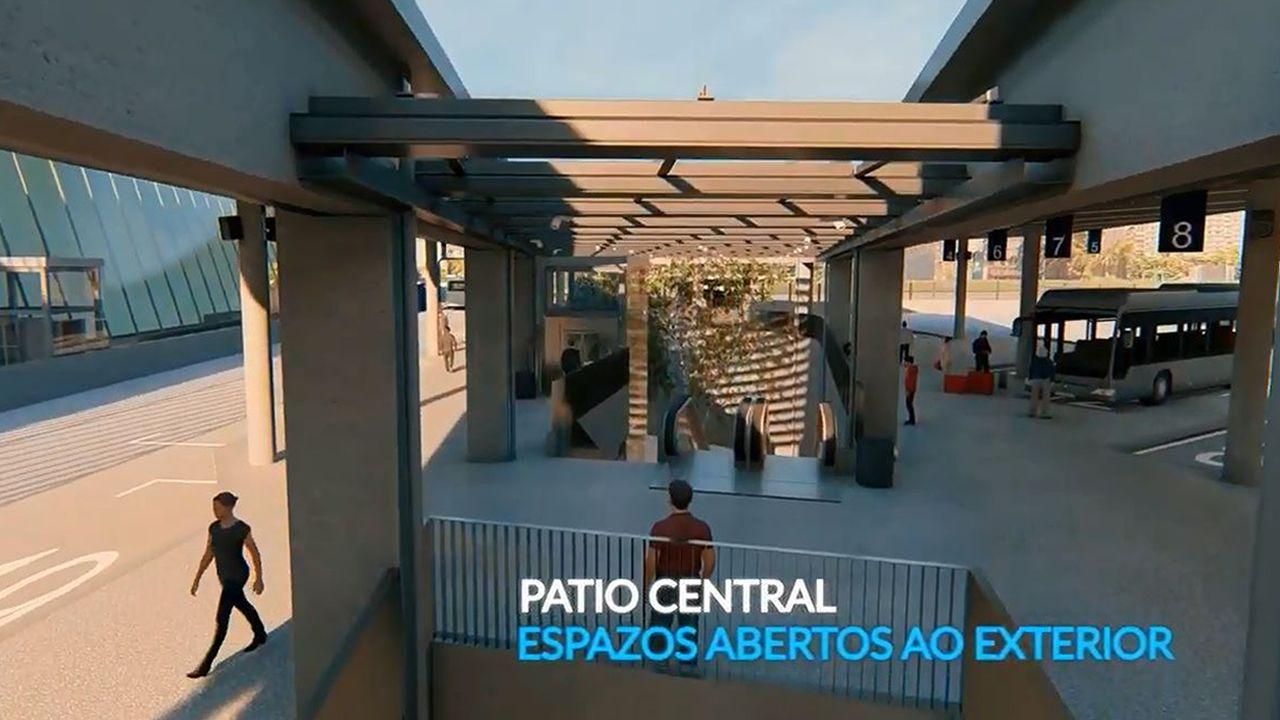 Así será la nueva estación de autobuses de Vigo.La pista del aeropuerto de Asturias, desde la torre de control