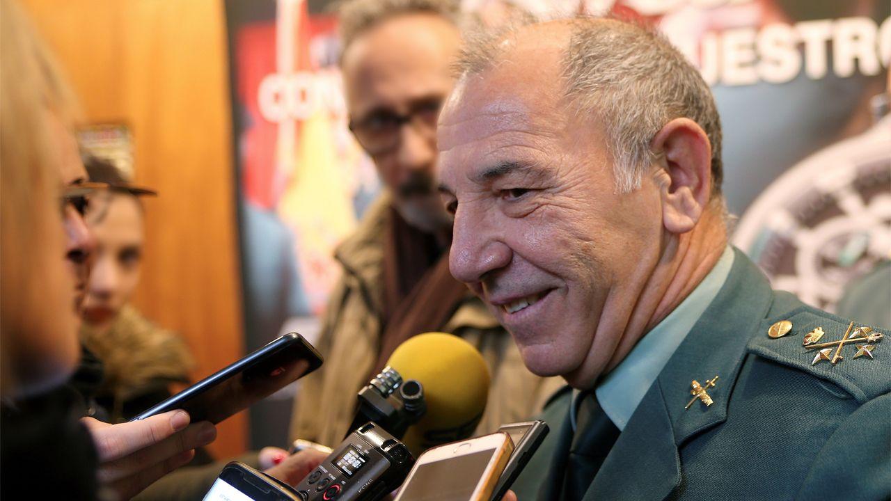 El teniente general Fernando Santafé Soler, jefe del mando de operaciones de la Guardia Civil, en una imagen de archivo
