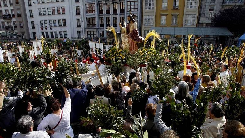 Domingo de Ramos en A Coruña y Betanzos