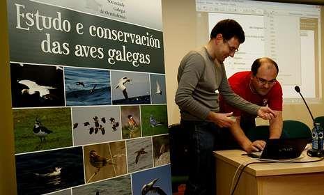 El Congreso Galego de Ornitoloxía, que se inaugurará hoy de forma oficial, comenzó ayer.