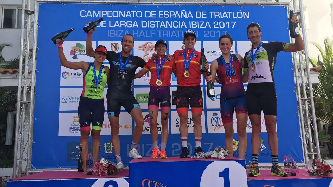 Pablo Dapena campeón de España de triatlón de larga distancia