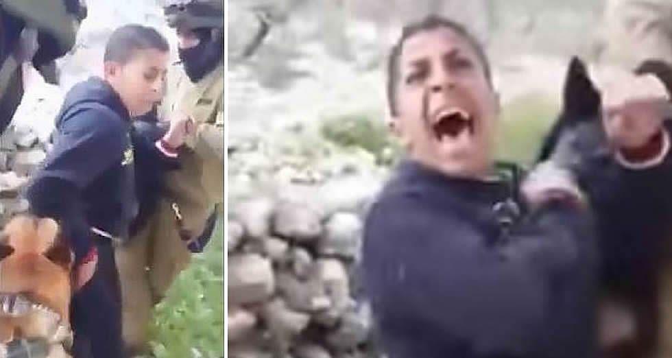 Polémico vídeo de la acción de los soldados israelíes
