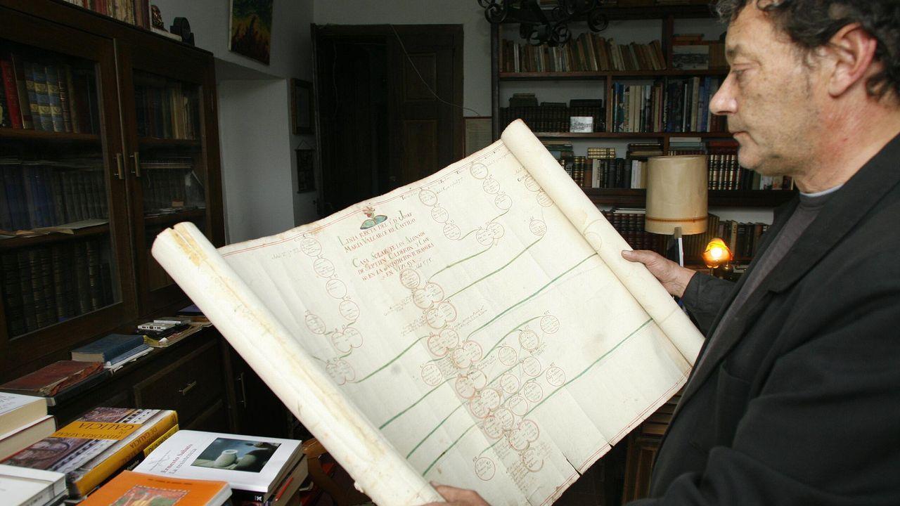 Hallazgos arqueológicos romanos en el rural lucense.Antón Valcarce tamén pediu a propiedade de Doncos