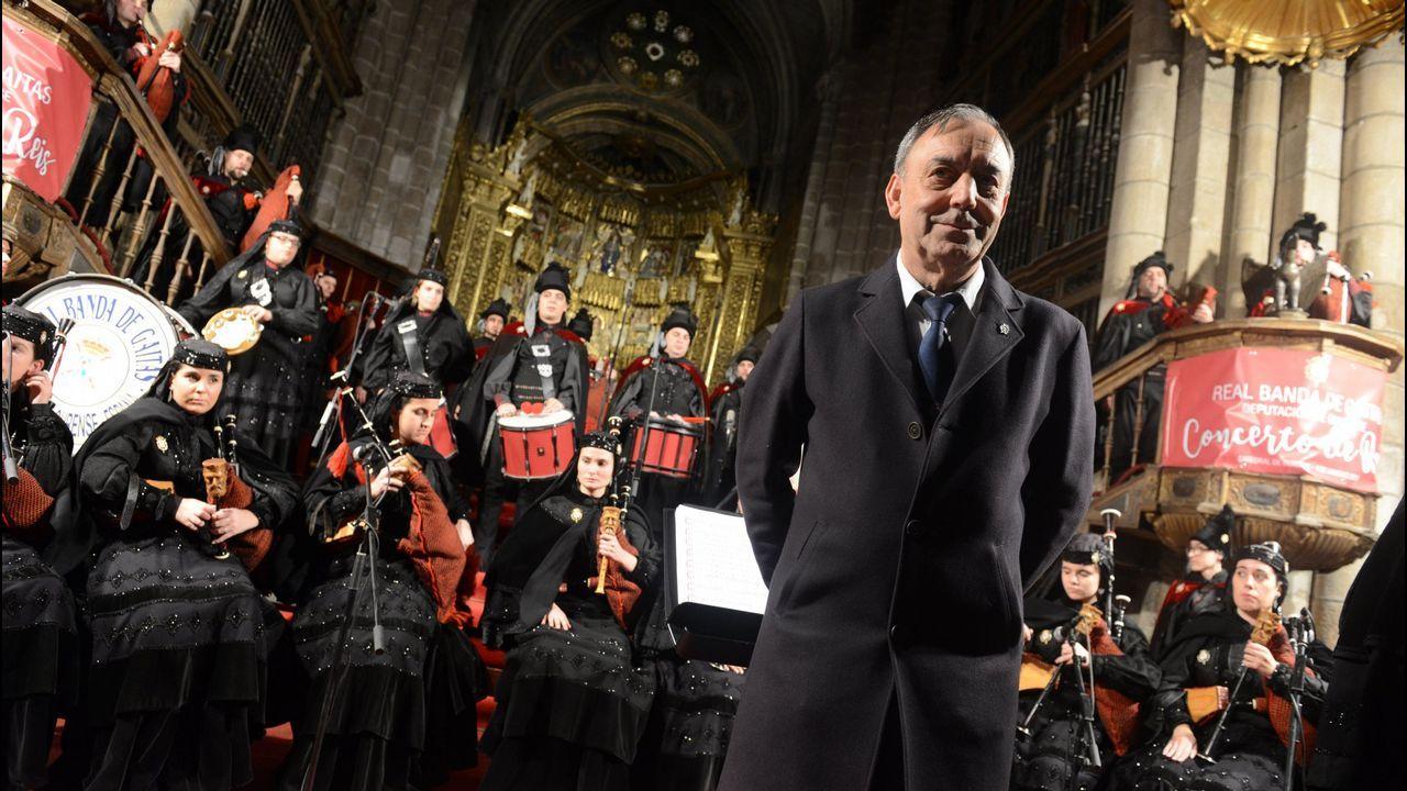 La visita de la Reina Sofía a Padre Rubinos, en imágenes.Rajoy y Cifuentes se saludan en Alcalá de Henares