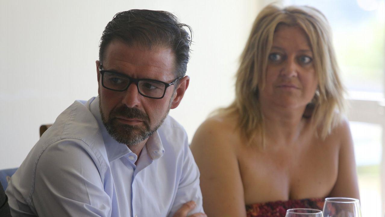 Candidatos y aspirantes del PSdeG para las municipales en las siete ciudades.Ángel Mato