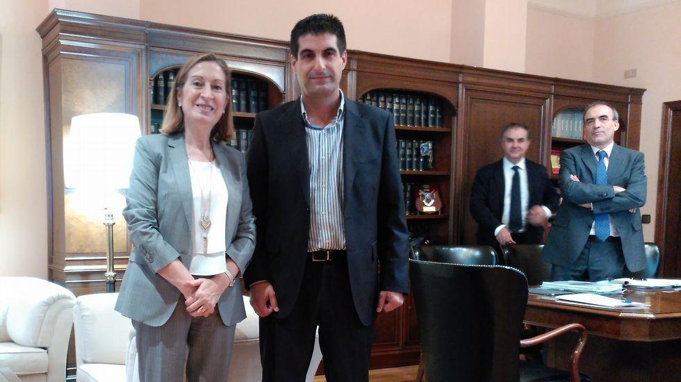 Gónzález Formoso se reunió con el alcalde de Vilasantar.