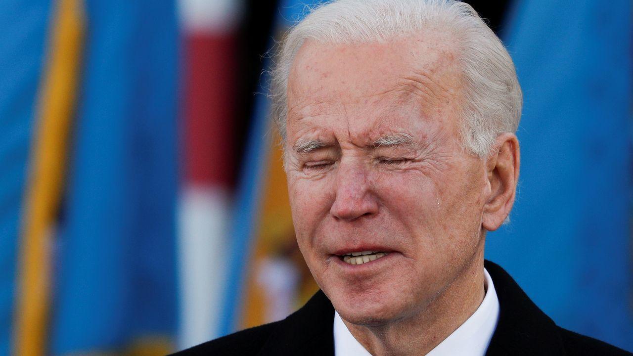 Biden se despidió entre lágrimas de Delaware, su estado de residencia