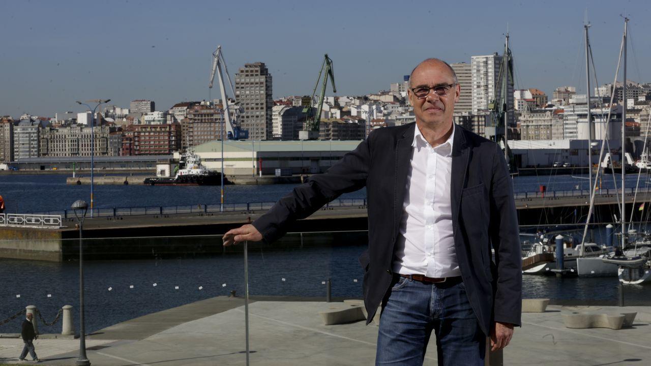 Así fue el debate definitivo de los candidatos a la alcaldía de A Coruña.MONICA MARTINEZ CANDIDATA DE CIUDADANOS A LA ALCALDIA DE EL AYUNTAMIETO DE A CORUÑA