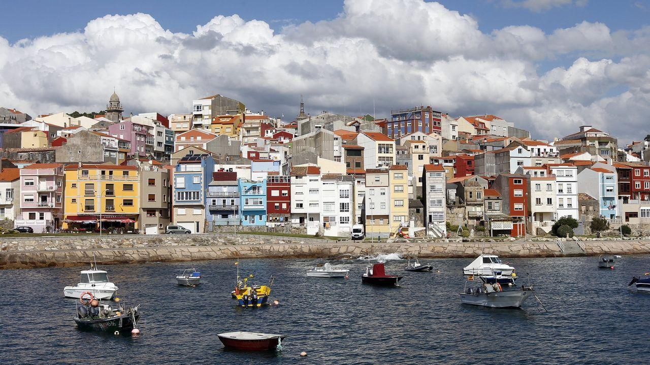 Los pueblos marineros más bonitos de Galicia.Telmo Martín este viernes en el pazo de Quintáns para hacer el balance turístico de Sanxenxo del 2021