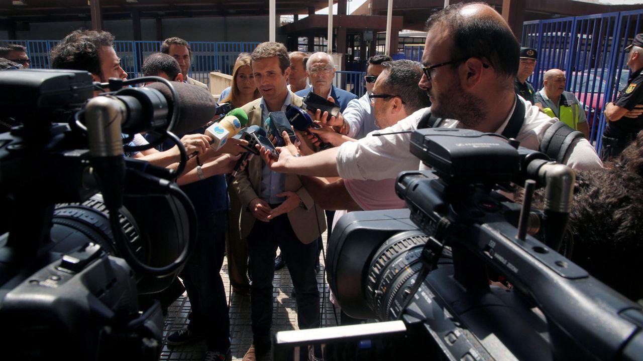 Vista general de la cárcel de Asturias.Lugar del último ataque de un presunto terrorista yihadista en Trappes, Francia