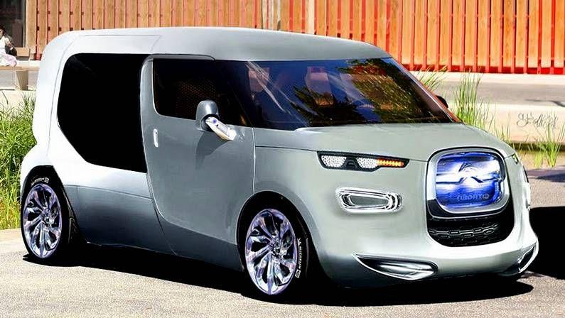 Diseño de la nueva furgoneta según una publicación de automoción en Francia