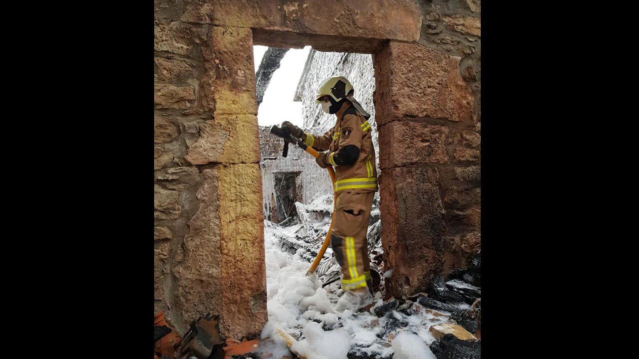 Incendio en Perlavia