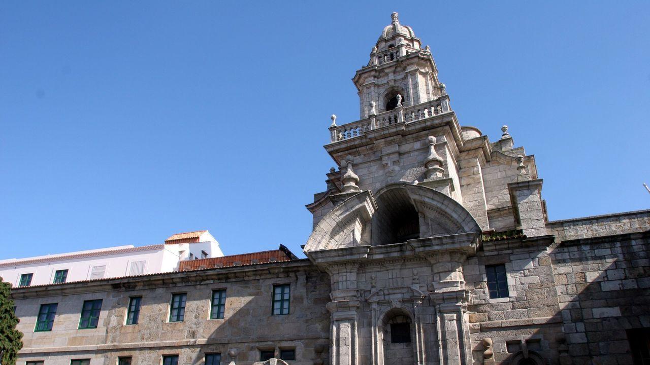 Inicio del curso en las guarderías privadas de A Coruña.Acantilados de la sierra de A Capelada