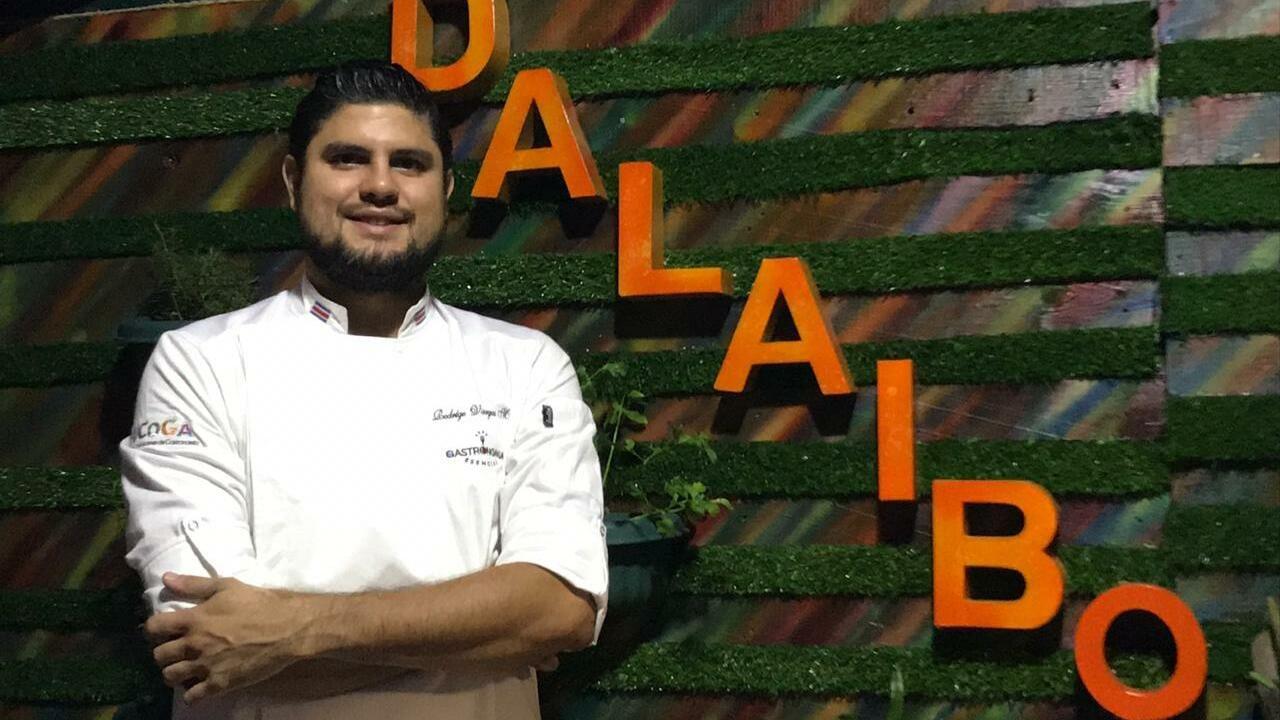 Calistenia en la Alameda.Vargas, uno de los cocineros foráneos que participará en la Termatalia 2019