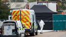 Encuentran 39 cadáveres en el interior de un camión en el Reino Unido