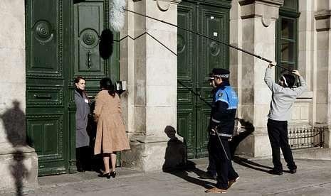 El rodaje se llevó a cabo en A Coruña, en este caso en el centro educativo Eusebio da Guarda.
