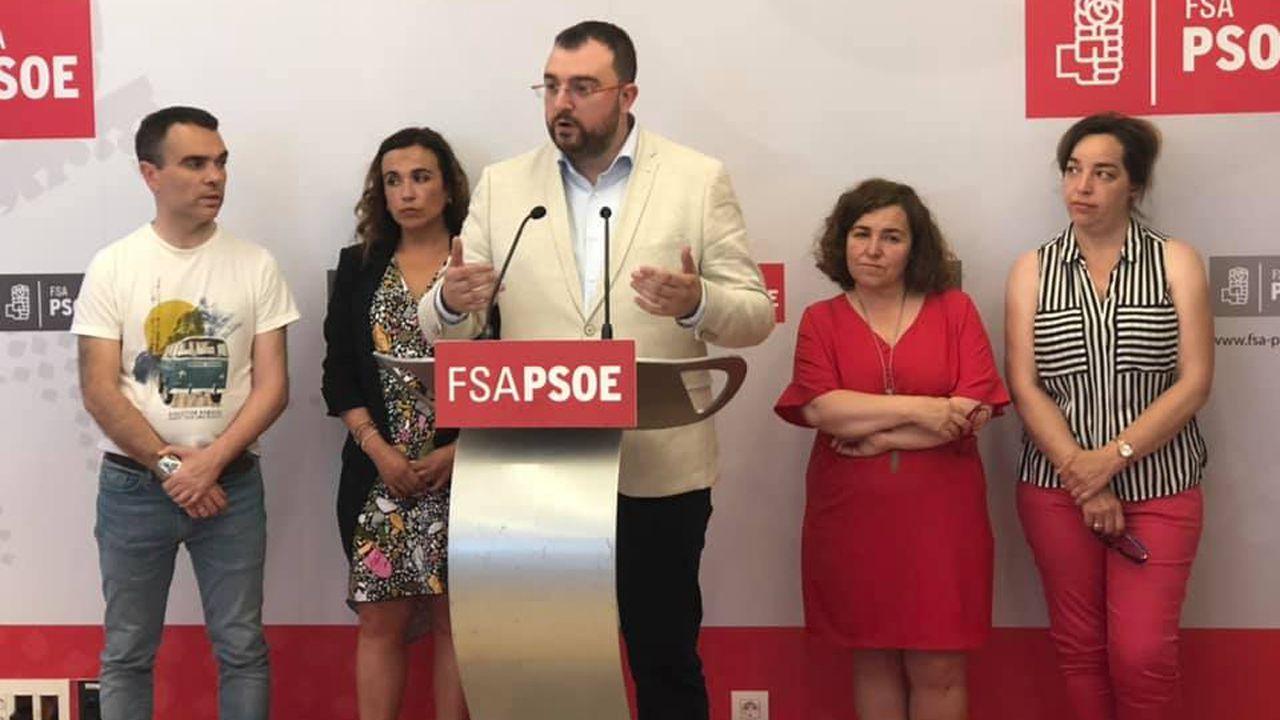 Barbón se proclama nuevo presidente de Asturias.Adrián Barbón, candidato a la Presidencia del Principado