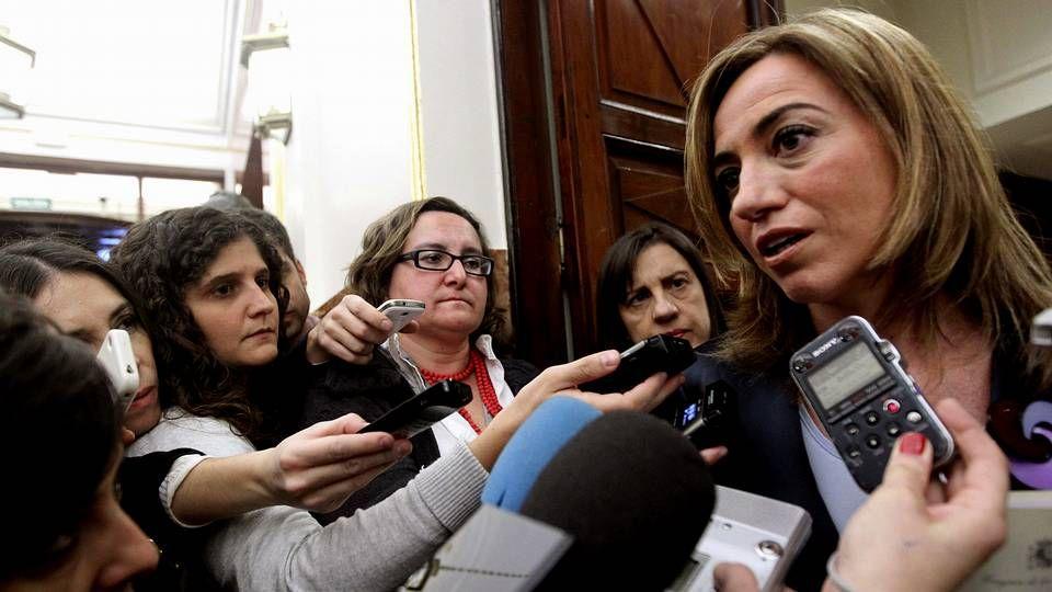 Las palabras de Montoro.Sáenz de Santamaría y Báñez, antes de dar cuenta de los acuerdos del Consejo de Ministros.