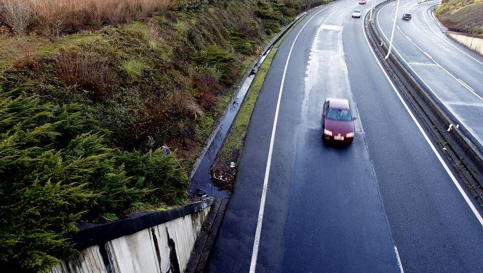 Puente en el que ocurrió el accidente en elque murió una joven.
