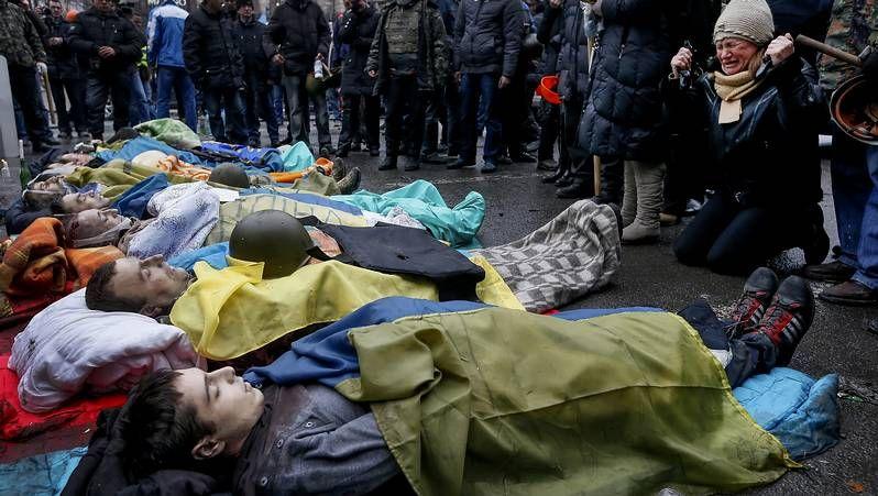 Sangrientos disturbios en Ucrania