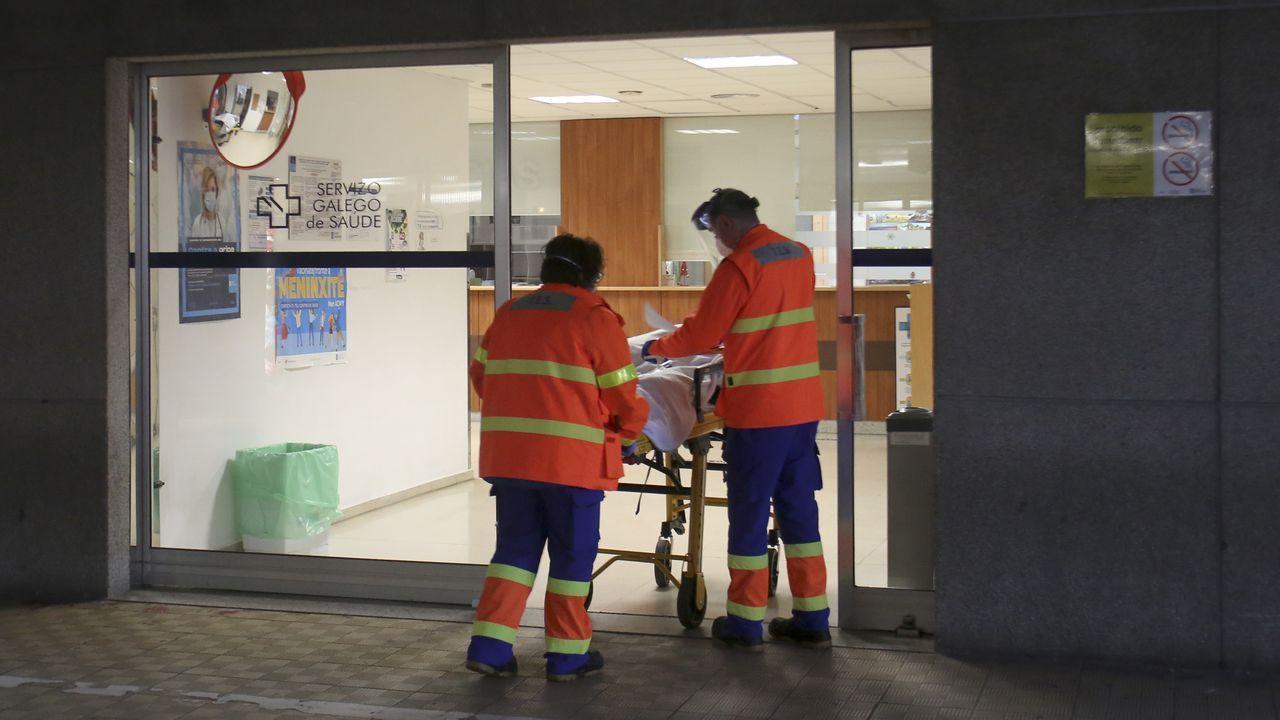 Hay 79 pacientes ingresados, cinco de ellos en la uci
