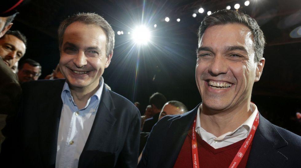 Montilla: «España sin Cataluña no sería España. No estamos hablando de Ceuta y Melilla».Zapatero en Madrid con Pedro Sánchez el 9 de marzo