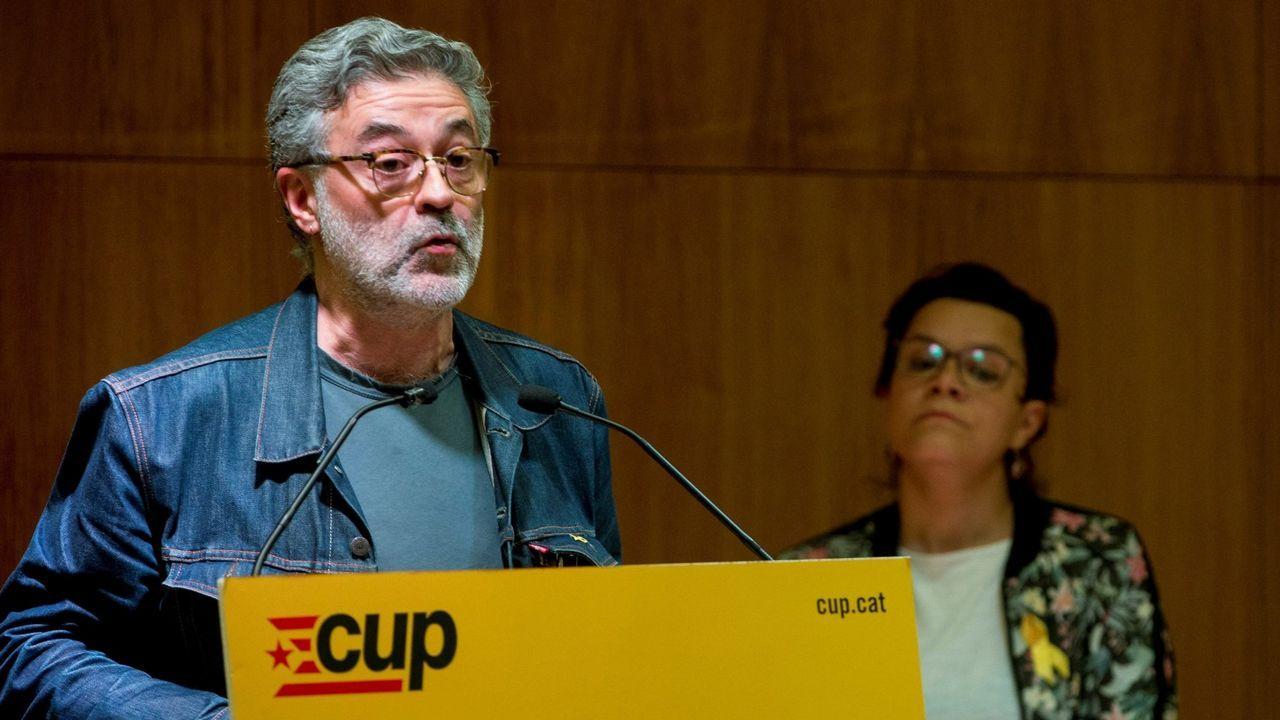 El diputado de la CUP, Carles Riera