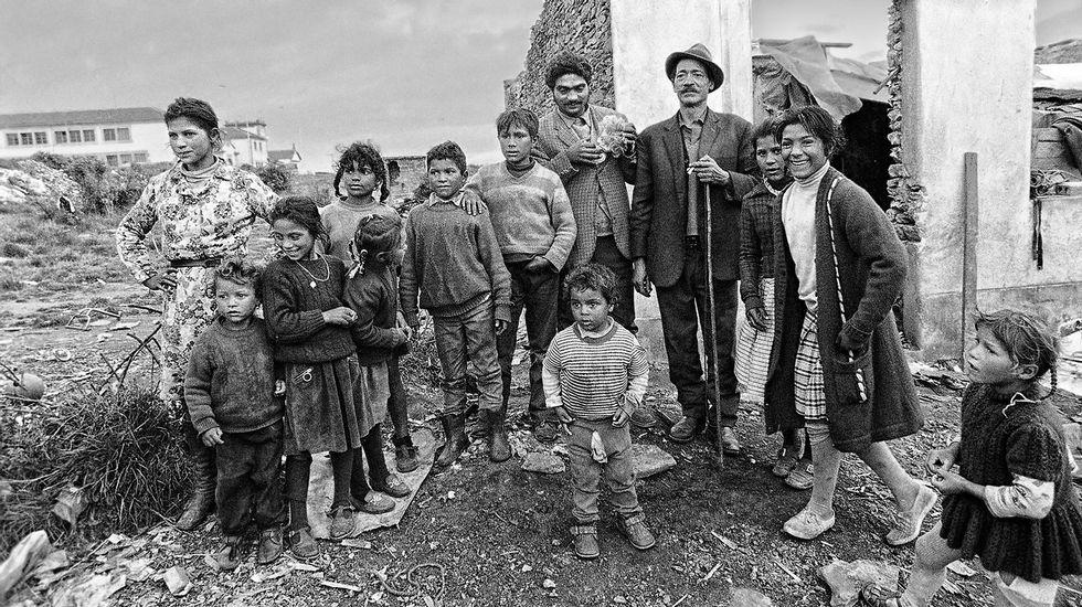 La trayectoria política de Esperanza Aguirre, en fotos.Imagen de archivo de gitanos en los años setenta