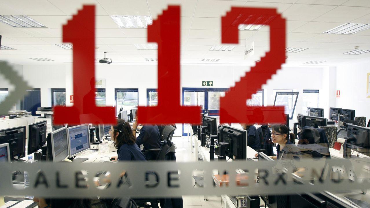 El aviso al 112 Galicia fue a las tres y media de la tarde