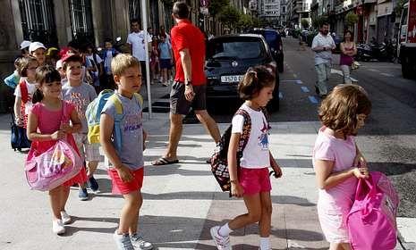 Vigo suma ahora más menores de cuatro años en su censo que al inicio de la crisis.