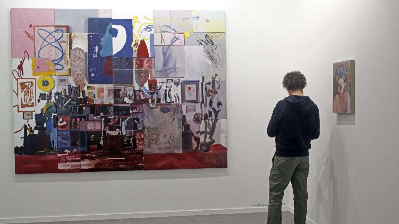 Trabajo reciente del pintor madrileño Nacho Martín Silva, una obra de gran madurez que ha merecido el respaldo de Max Estrella, una de las galerías madrileñas más punteras