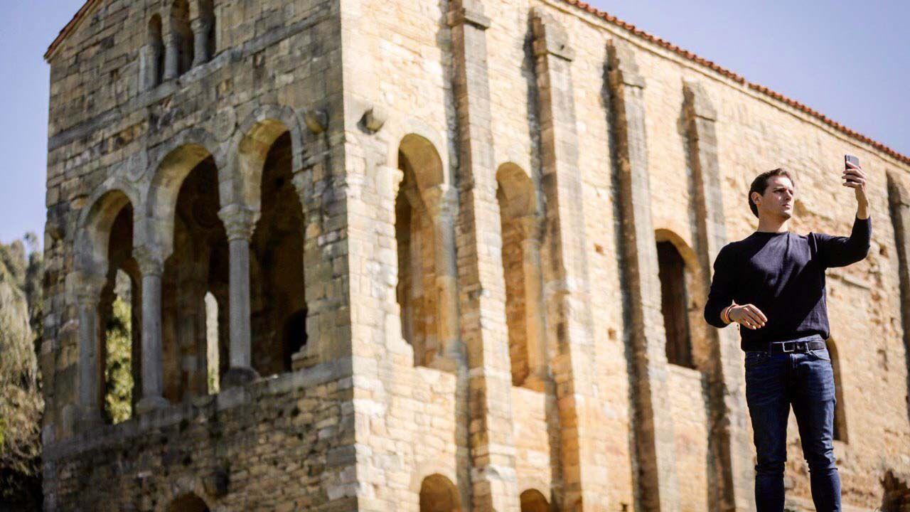 El líder de Ciudadanos en Santa María del Naranco