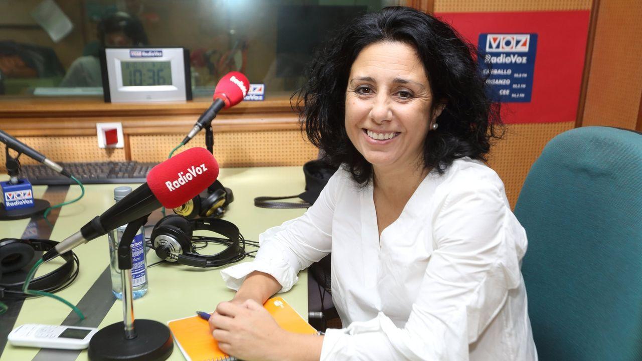 Margarita Lamela, alcaldesa de Cee
