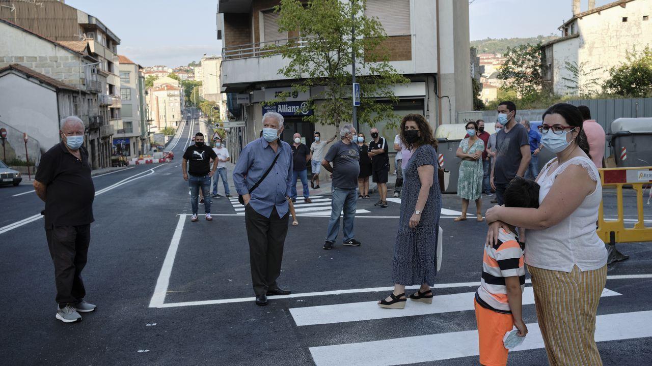 Vecinos de Marcelo Macías protestan por la señalización horizontal de la calle