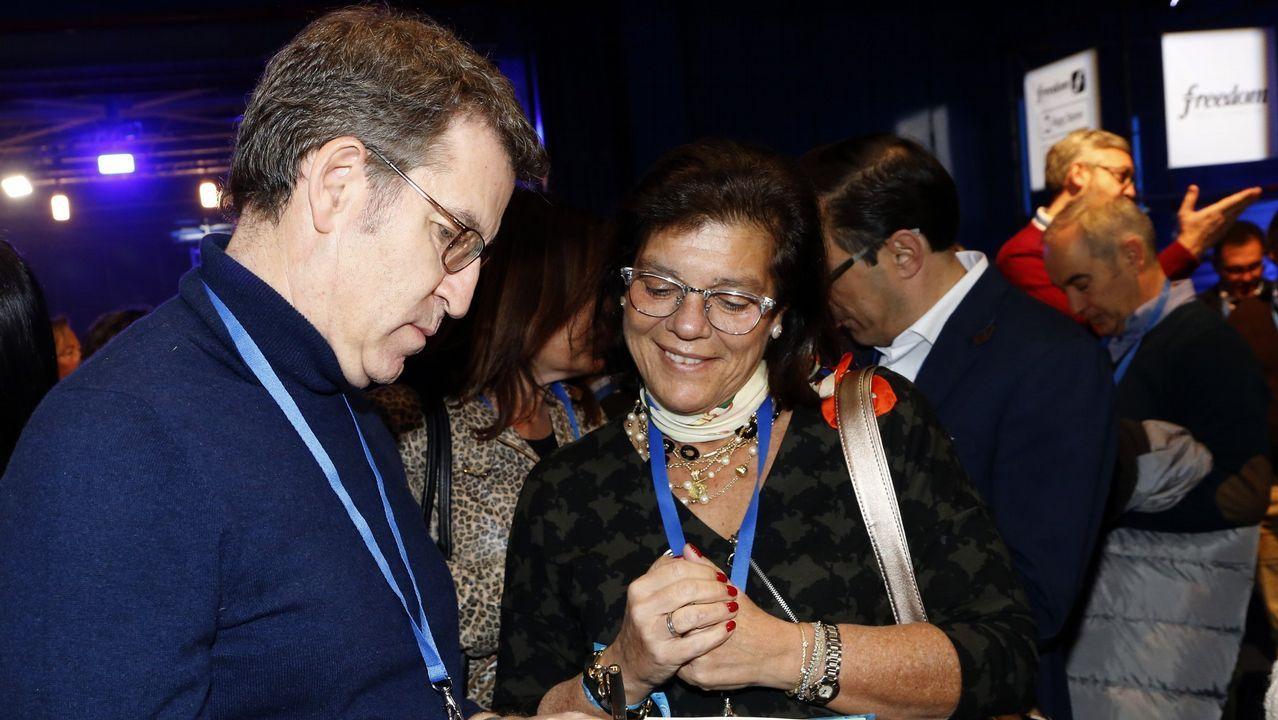 Encuentro de presidentes deGalicia, León y Asturias para el impulso delcorredor atlántico.Juan José Aizcorbe, abogado de la familia Franco