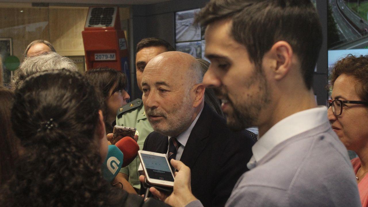 losada.El delegado del Gobierno, Javier Losada, este jueves en rueda de prensa