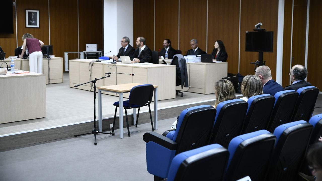 Primer día del juicio por la destrucción de los ordenadores de Luis Bárcenas