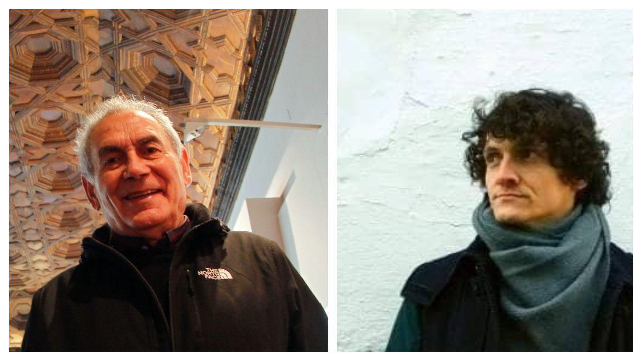 Camilo Nogueira e Eduard Velasco, os autores recoñecidos polo premio Losada Diéguez na súa 35.ª edición