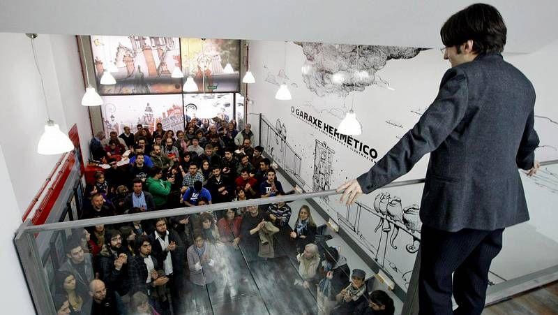 El mural de Pinto & Chinto está protagonizado por Tito Longueirón