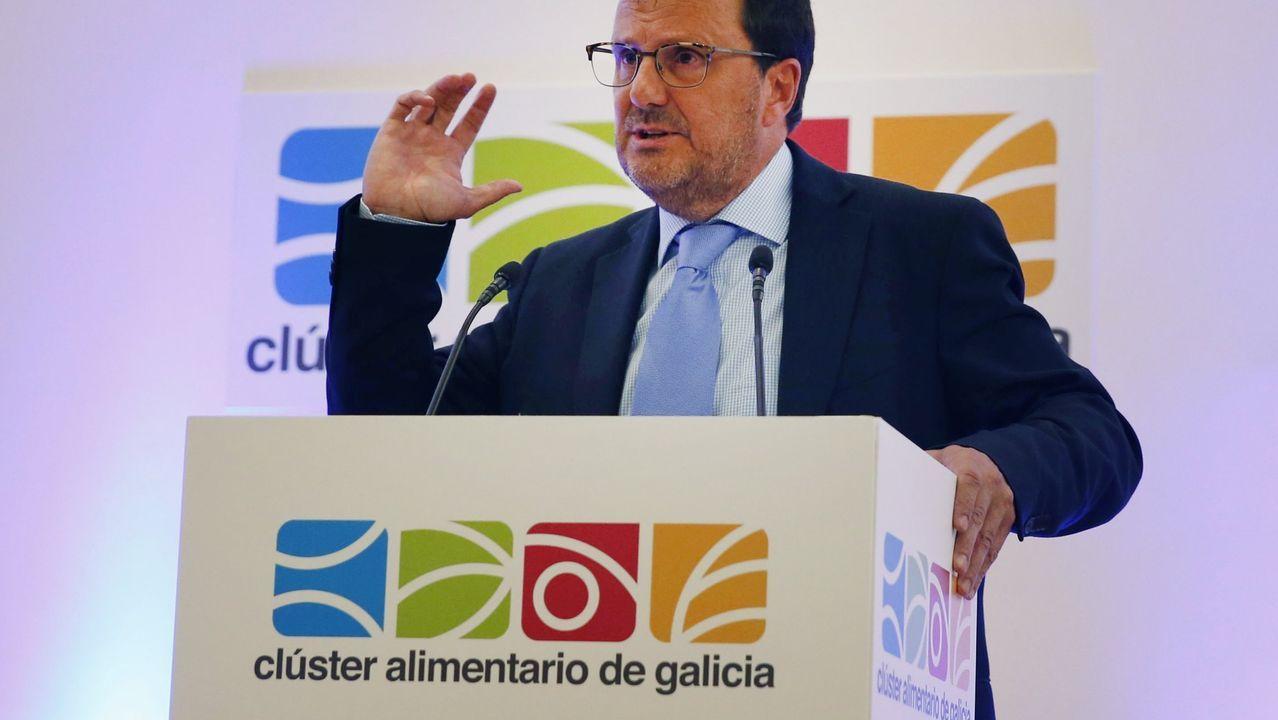 ¿Cómo podrá salir reforzado de la pandemia el sector del vino en Galicia?.Foto de grupo de todos los premiados con el presidente de la Xunta y los organizadores